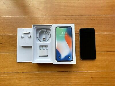 AU210.50 • Buy Apple IPhone X - 64GB - Silver (Unlocked) A1865 - Excellent Condition