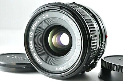 [N.Mint] Canon New FD 28mm F/2.8 Wide Angle MF Prime Lens By DHL From Japan #499 • 69£