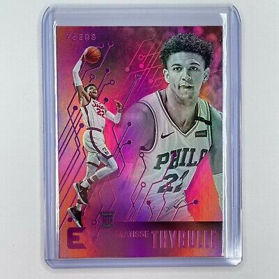 AU10 • Buy 2019-20 Nba Panini Chronicles Matisse Thybulle Essentials Pink Rookie Card