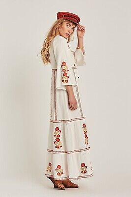 AU180 • Buy Arnhem Willow Maxi Dress In Alabaster New With Tags Size 12