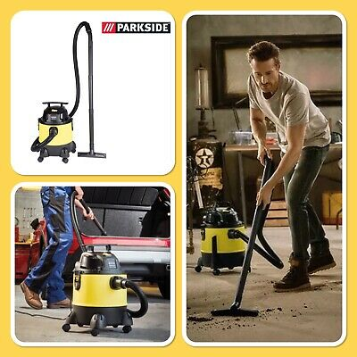 Parkside Wet & Dry Vacuum - PNTS 1300 F5 - 1300w Vacuum Cleaner - Vax • 49.99£