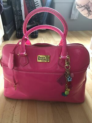Pink Paul Boutique Hand Bag With Paddock & Key • 25£