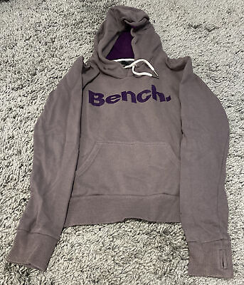 Bench Hoody Hoodie Grey Womens Size XS Extra Small • 2.99£