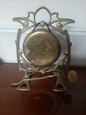 Brass Gong - Arts And Craft Style  • 25£