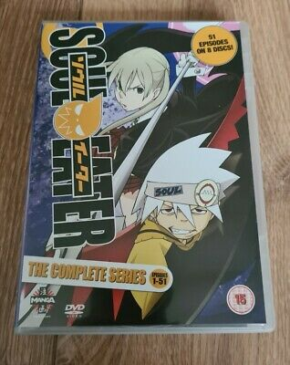 Soul Eater The Complete Series Collection DVD Anime Manga • 15£