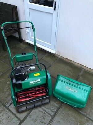 *qualcast Classic 43s*self Propelled Petrol Cylinder Mower*fully Serviced* P5 • 350£