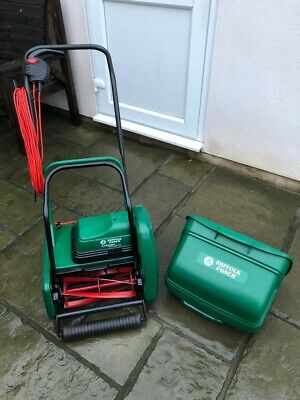 *suffolk Punch Electric Cylinder Mower*fully Serviced!* Allet, Atco, Qualcast • 180£
