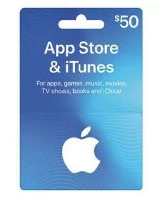 AU100 • Buy $50 Australian ITunes Gift Card- Code Emailed Within Two Business Days.