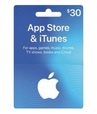 AU75 • Buy $30 Australian ITunes Gift Card- Code Emailed Within Two Business Days.