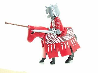 Playmobil  Red Knight From Easter Blue Egg 4920 • 9£
