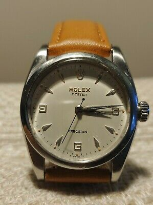 Vintage ROLEX Oyster Precision 6426 Ivory Dial Men's Watch. • 940£