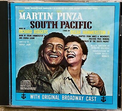 Martin Pinza: South Pacific With Original Broadway Cast CD - H20 • 2.20£