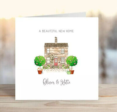 Personalised Greetings Card For New Home/Congratulations First Home • 2.50£