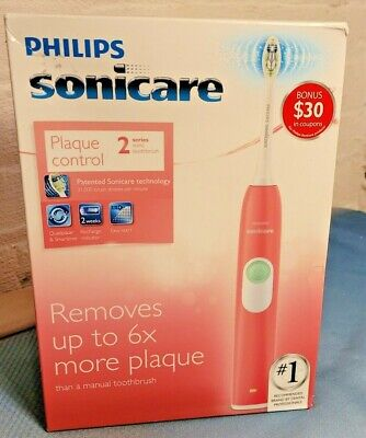 AU49.72 • Buy Philips Sonicare Plaque Control 2 Series Electric Sonic Toothbrush HX6211/47