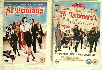 St. Trinian's & St. Trinian's 2 - The Legend Of Fritton's Gold (DVD's) • 3.50£
