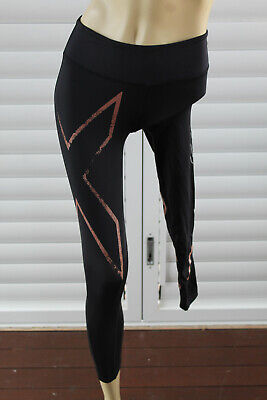 AU20 • Buy 🃏 Size Xs 2xu Black 7/8 Length Compression Tights Active Pants Post 5+ Free