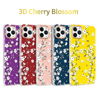 Shockproof Floral Phone Case Cover For IPhone 11 Pro XS Max XR 7 8 Plus SE 2020 • 2.66£