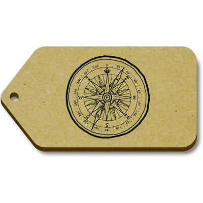 'Scout Compass' Gift / Luggage Tags (Pack Of 10) (TG025392) • 4.99£