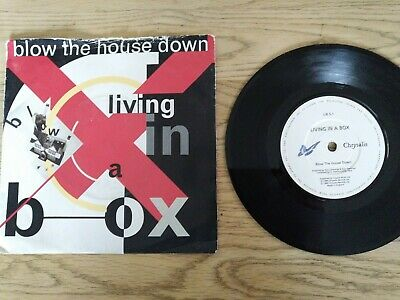 Living In A Box - Blow The House Down - 7  Vinyl Record Single • 0.99£