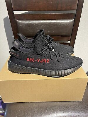 $ CDN592.22 • Buy Adidas Yeezy Boost 350 V2 Size 14 Core Black Red 2020 DS