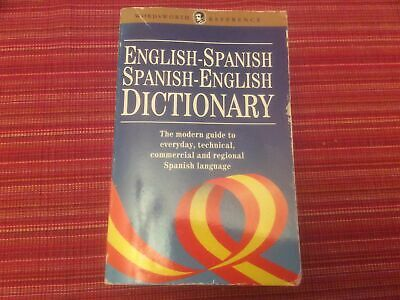 English_Spanish Dictionary With Everyday, Technical,commercial Spanish • 1.10£
