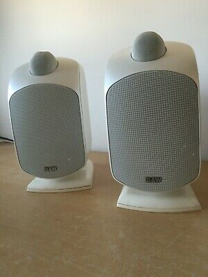 B&W LM1 Speakers (x2) –Stereo Pair Of Loudspeakers With Brackets • 105£