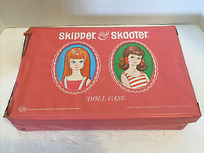 $ CDN26.34 • Buy Vintage/Antique*Mattel Skipper & Scooter Doll Case W/Clothes/Outfits/Apparel