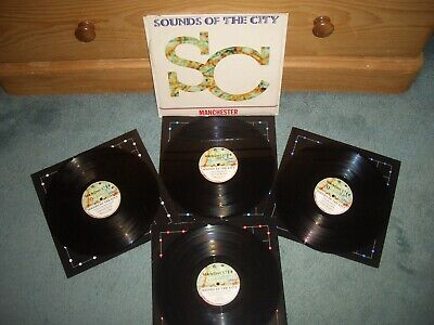 Sounds Of The City Manchester Various Artists 4xlp Total Stereo Lp • 6.99£