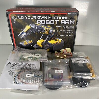Build Your Own Mechanical Robot Arm Thumbs Up! Build Set Sealed Contents  • 29.99£