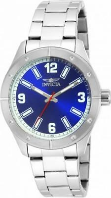 Invicta Specialty 17926 Men's Round Analog Blue And Silver Tone Watch • 4.75£