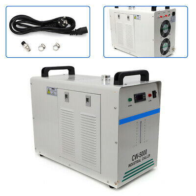 Cw-5000 Industrial Water Chiller Glass Laser Tube Laser Equipment Dissipate Hea • 289.94£