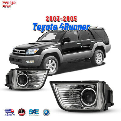 $36.12 • Buy Fog Light Fits 03-05 Toyota 4Runner Clear Lens Factory Replace Driving Lamp Pair