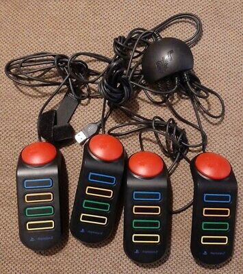 Playstation 2 Buzz Controllers • 10£