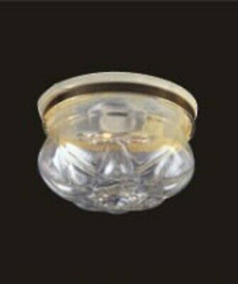 £6.99 • Buy 1:12 Scale Dolls House Ceiling Light With A Removable Clear Shade 4011