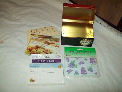 Emeril's Recipe Box With Cards Metal Tin W/ Sealed Cards • 3.66£