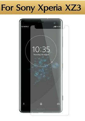 AU5.08 • Buy For Sony Xperia XZ3 Tempered Glass Film Screen Protector Cover HD Premium