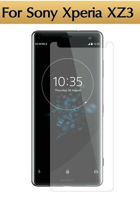 AU5.15 • Buy For Sony Xperia XZ3 Tempered Glass Film Screen Protector Cover HD Premium