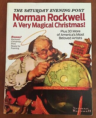 $ CDN6.35 • Buy Saturday Evening Post Norman Rockwell Very Magical Christmas Print