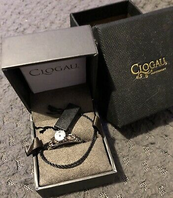 Clogau Ring Of Life With Topaz • 50£