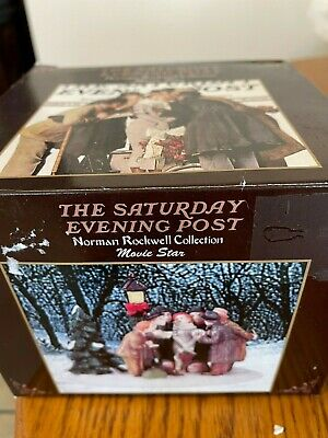 $ CDN6.38 • Buy  Rockwell Collection The Saturday Evening Post Figurine~ MOVIE STAR