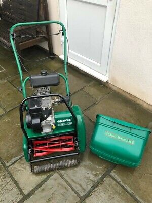 *qualcast Classic 35s*self Propelled* Petrol Cylinder Mower*fully Serviced*p3 • 250£
