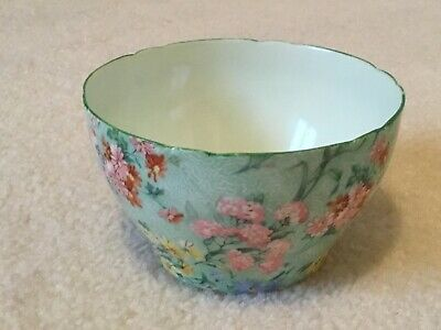 Shelley Melody 4 Inch Sugar Bowl Peppermint Green In Lovely Condition Art Deco • 20£