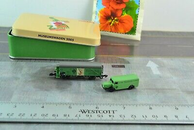 AU51.79 • Buy Marklin Museum Wagon 2005 Car + Delivery Truck Z Scale