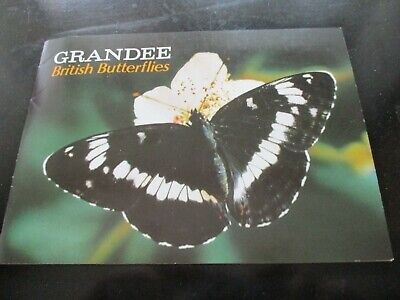 Grandee British Butterflies Album & Cards Complete • 2.99£