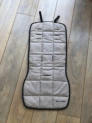 Maclaren XLR Stroller Stone /beige Replacement Seat Cover New • 5£