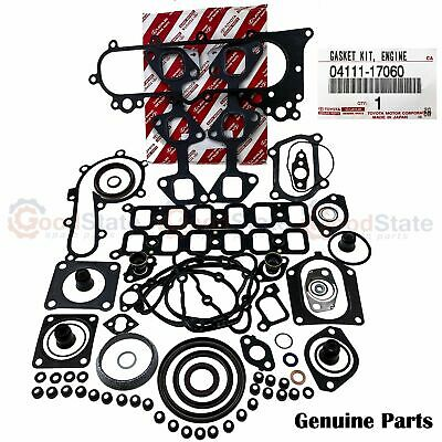 AU423.26 • Buy Genuine Toyota LandCruiser HDJ100 1HD FTE 4.2 Diesel Engine Overhaul Gasket Kit