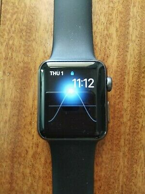 $ CDN62.31 • Buy Excellent Condition Apple I Watch Series 1 Black No Scratches