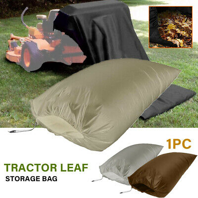 AU37.75 • Buy Foldable Oxford Cloth Leaf Storage Bag Patio Tractor Weeds Portable Lawn Mowers