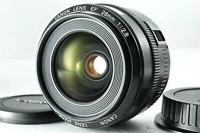 [Almost Unused] Canon EF 28mm F/2.8 Prime Wide Angle Lens By DHL From Japan #942 • 119£
