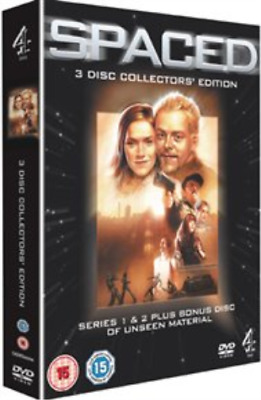 £11.91 • Buy Simon Pegg, Jessica Stevenson-Spaced: The Complete First And Second Se DVD NUEVO